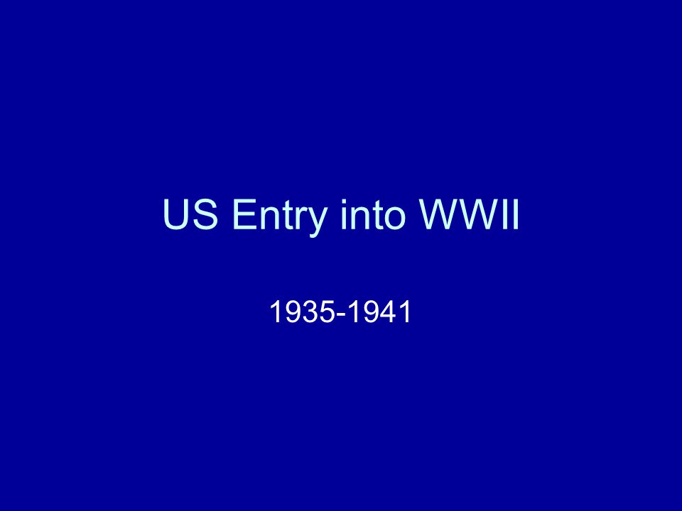 Possible Reasons for US Involvement Defending the world against fascism Stopping the German holocaust Revenge against the Japanese Promoting democracy/freedom in the world Protecting American economic/strategic allies Important date: December 7, 1941