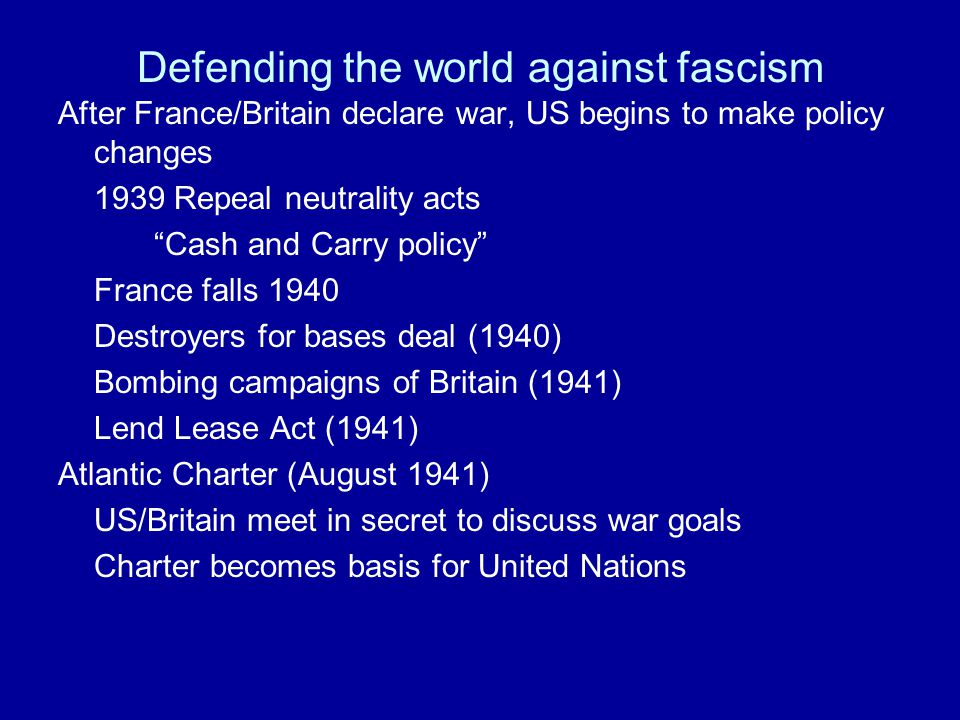 Stopping the German holocaust Germany had for years shown increasing hostility towards their Jewish population and other minorities Nuremberg Laws (1935-1938) Kristallnacht (November 1938) Final Solution (1939 on) US knew of Hitler's plans Jewish refugees flee to US US increased immigration restrictions St.