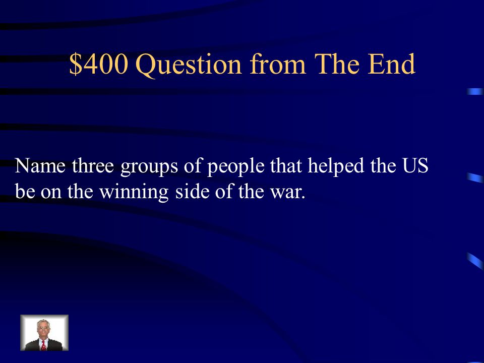 $300 Answer from WWII- The End The purpose of the United Nations was to talk problems out peacefully and avoid getting the world into war.