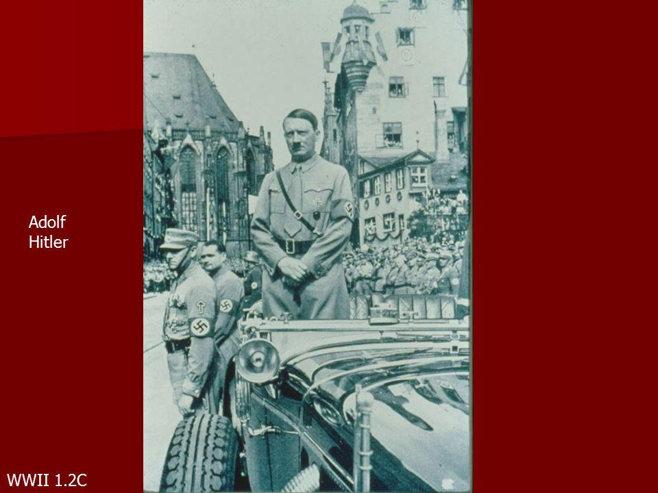 WWII 1.2C Adolf Hitler