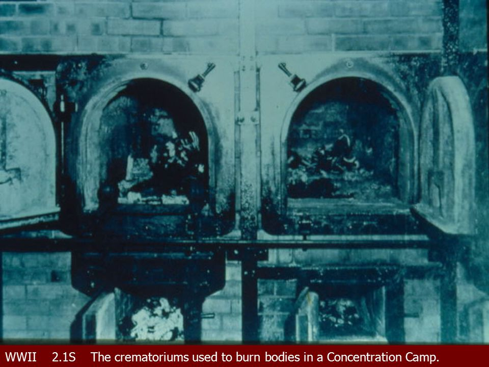 WWII 2.1SThe crematoriums used to burn bodies in a Concentration Camp.
