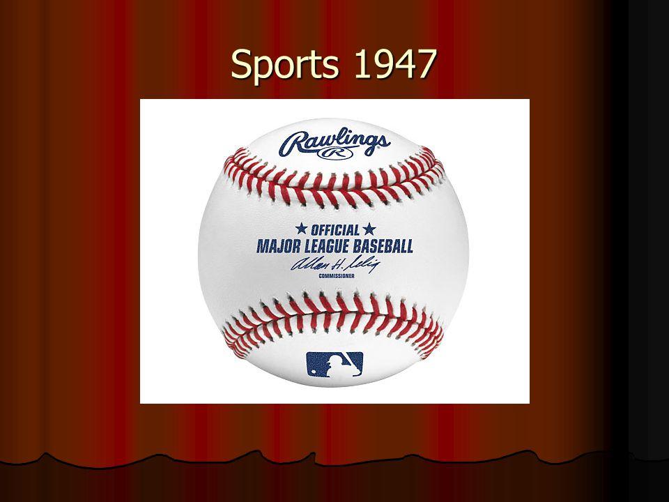 Sports 1947