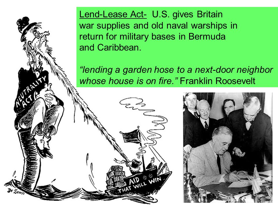 Lend-Lease Act- U.S.