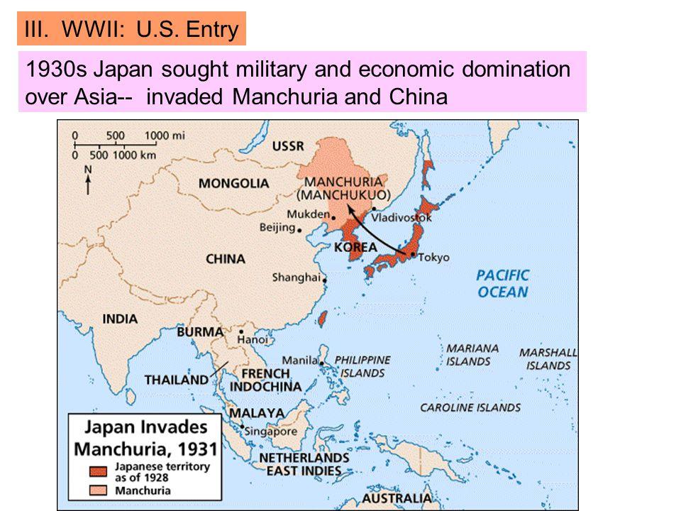 III. WWII: U.S.