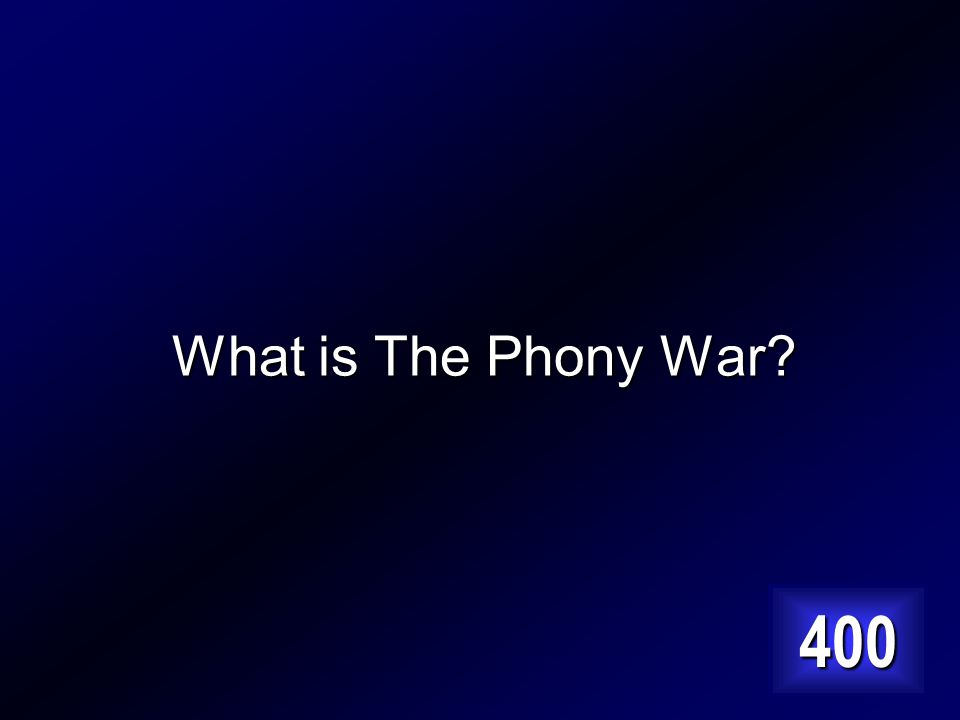After the invasion of Poland, both sides arming their defenses. Answer…