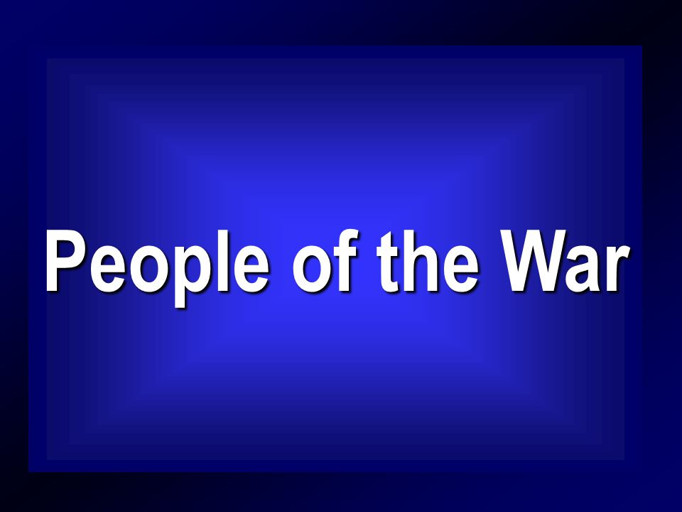 People of the War People of the War