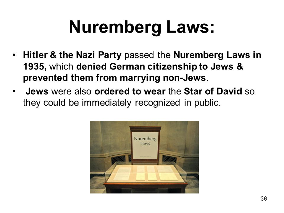 How Did Anti-Semitism Become Part of Nazi Ideology (cont.): Hitler's anti-Semitism could have stemmed from these or numerous other irrational prejudic