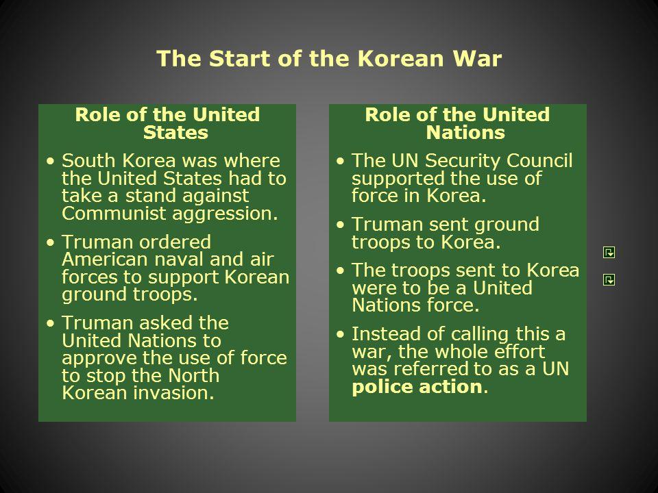 The Start of the Korean War North Korea invaded South Korea on June 25, 1950.