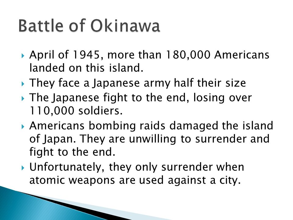  April of 1945, more than 180,000 Americans landed on this island.