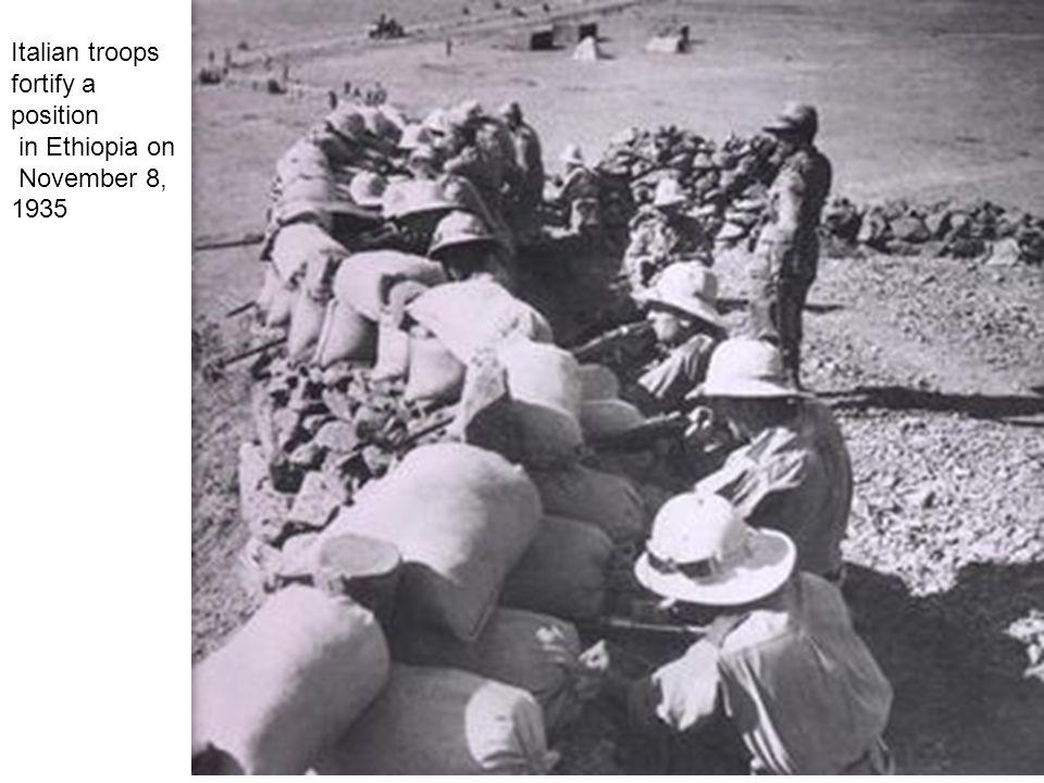 The Italian empire in 1940