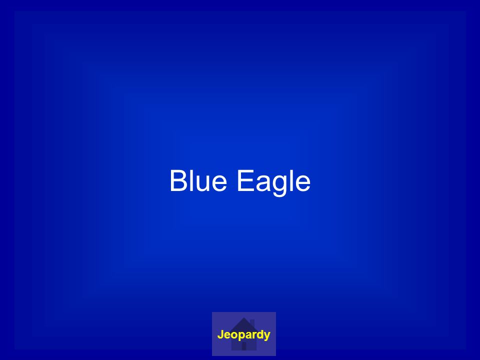 Blue Eagle Jeopardy