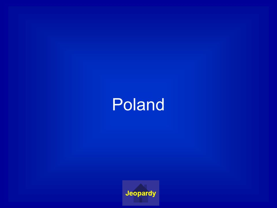 Poland Jeopardy