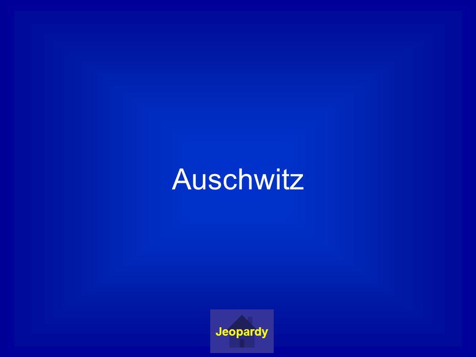 Auschwitz Jeopardy