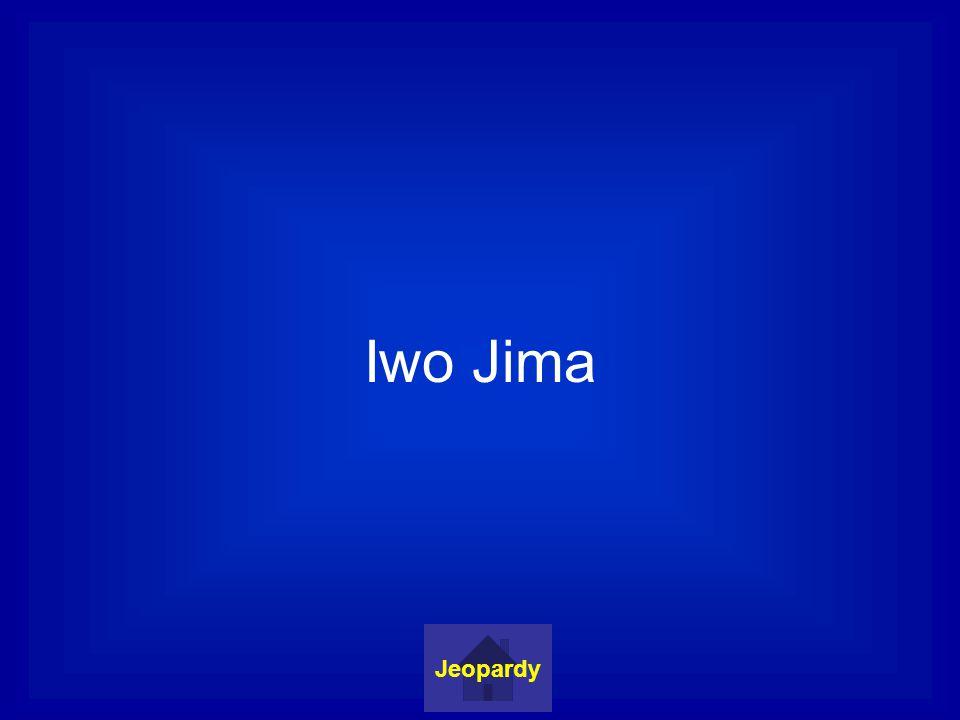 Iwo Jima Jeopardy