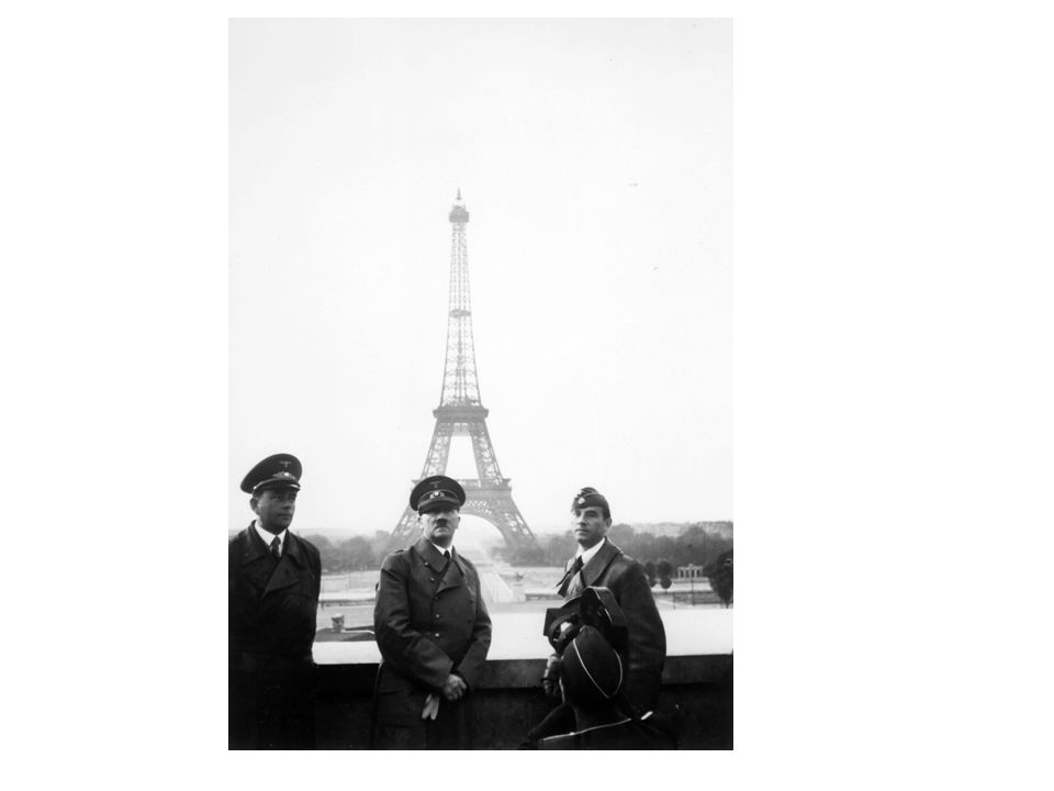 Vichy France: Liberty, Equality, Fraternity Work, Family, Fatherland After being defeated, the French government signed an armistice with the Germans.