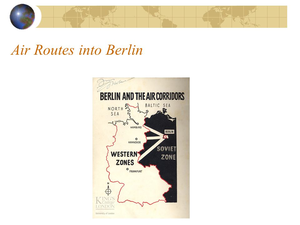 Air Routes into Berlin