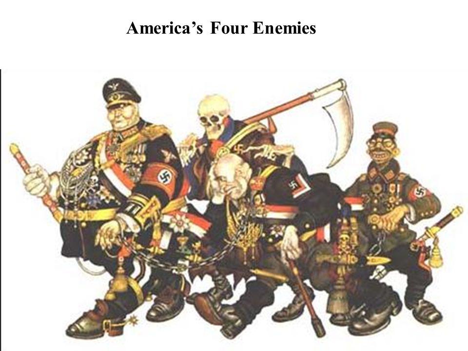 America's Four Enemies