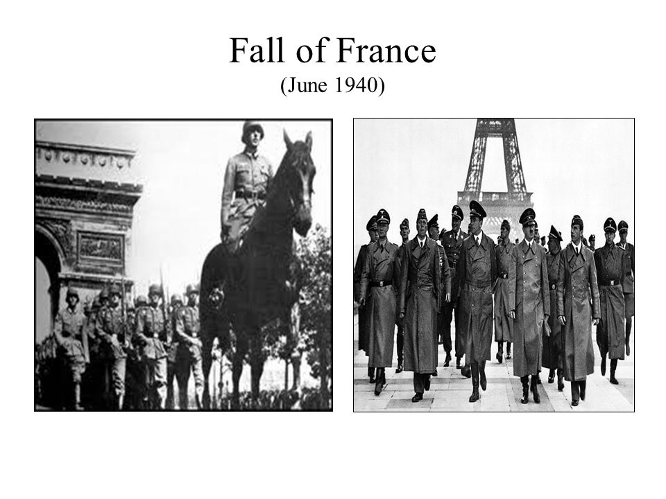 Fall of France (June 1940)