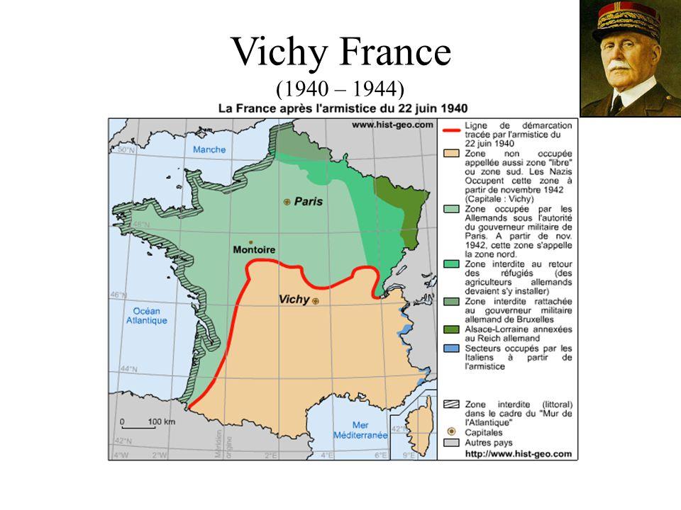 Vichy France (1940 – 1944)