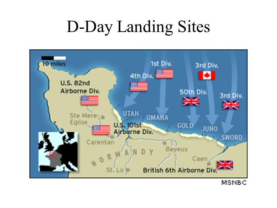 D-Day Landing Sites