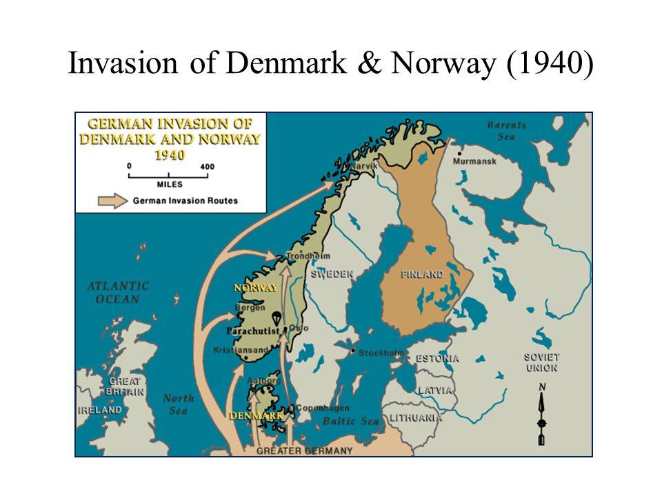 Germany Invades Netherlands & Belgium (May – June 1940)