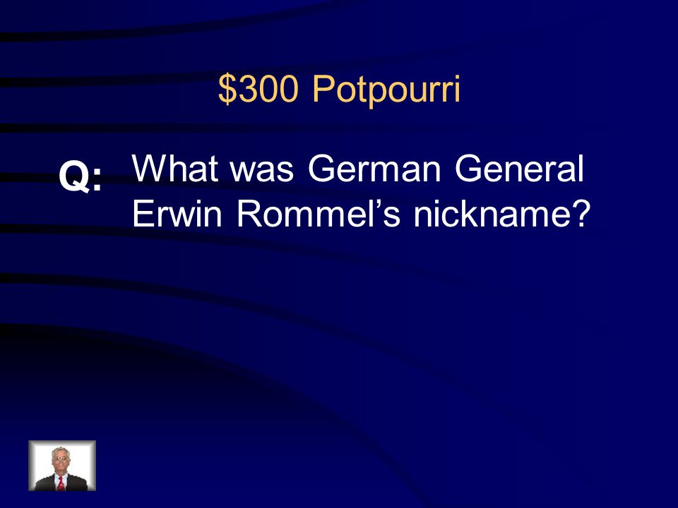 $200 Potpourri R: Operation Overlord