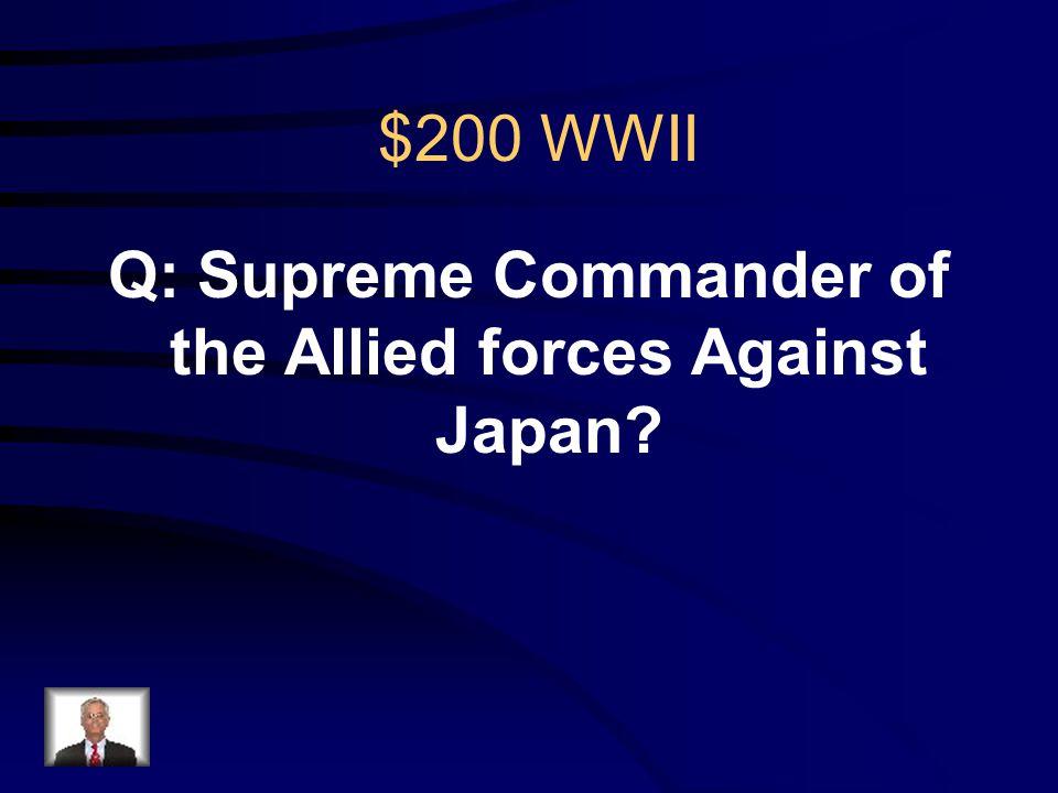 $100 WWII R: Eisenhower