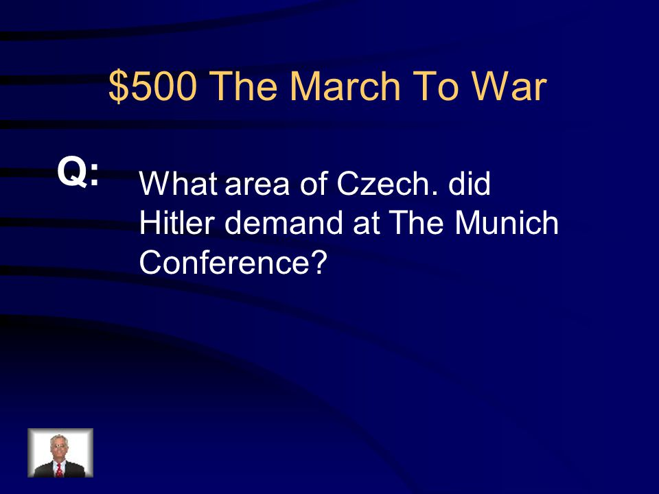$400 The March To War Appeasement