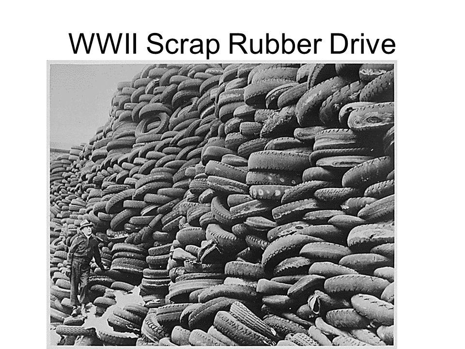 WWII Scrap Rubber Drive