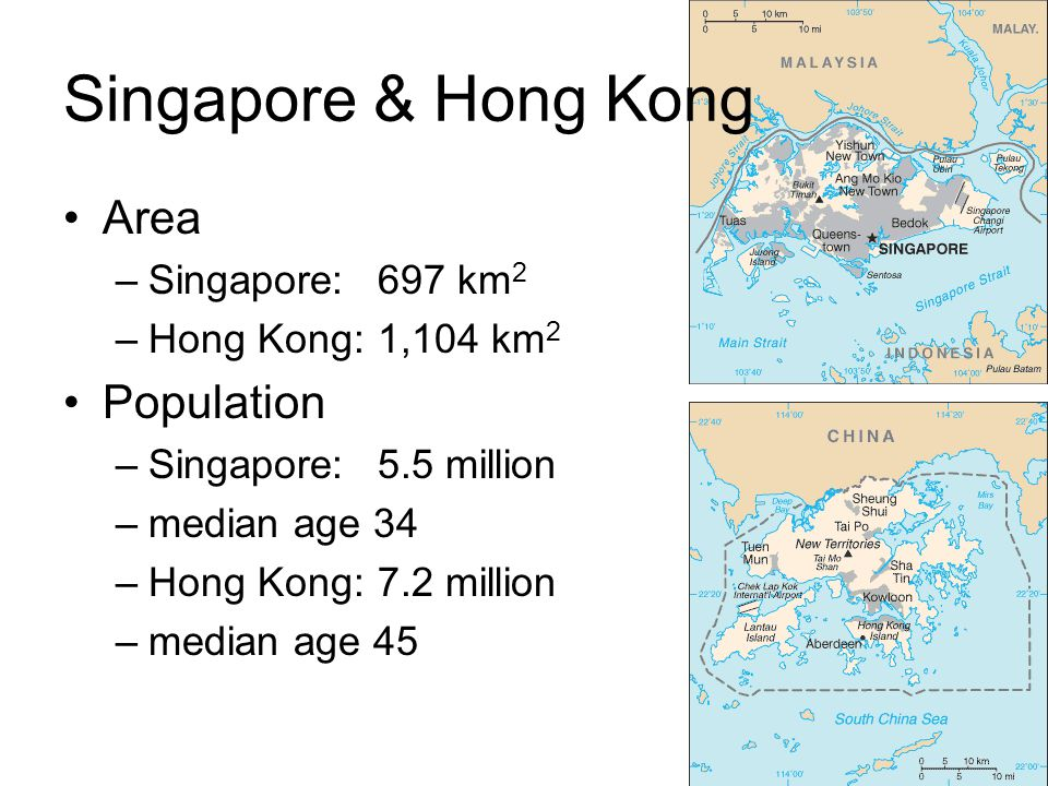 Divergent paths after WWII Hong Kong restructured its economy –population quadrupled 1945 - 1955 –large-scale relocation of capital, entrepreneurs, and assets from mainland China –trade embargo against mainland China after Korean War broke out actually benefited HK relative political stability –popular political apathy