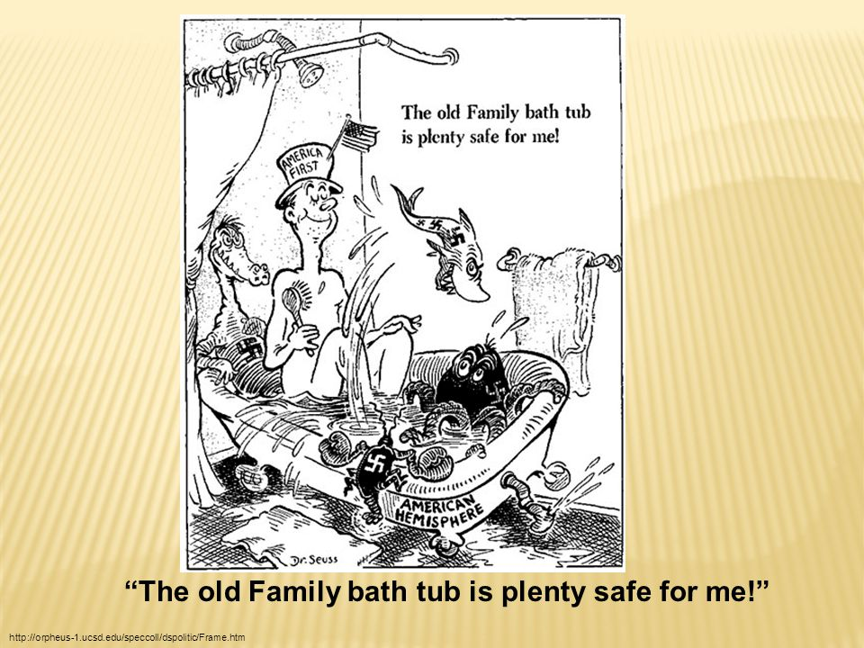 The old Family bath tub is plenty safe for me! http://orpheus-1.ucsd.edu/speccoll/dspolitic/Frame.htm