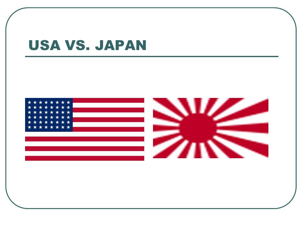 USA VS. JAPAN