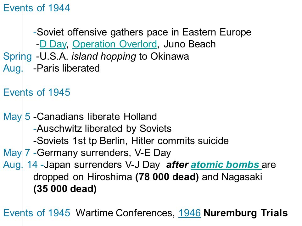 .. Events of 19459... Events of 19459.