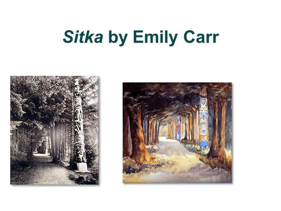 Sitka by Emily Carr