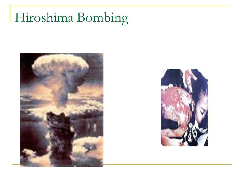 Hiroshima Bombing