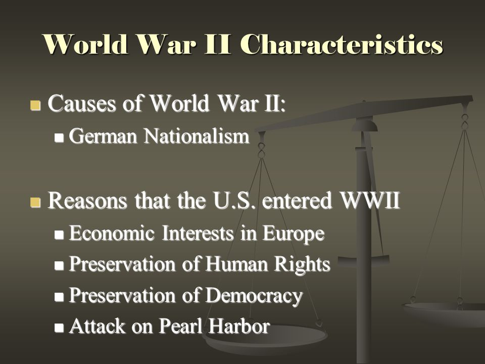 an overview of causes and effects of world war one In 1912 woodrow wilson was elected president of the united states wilson successfully kept americans troops out of world war i during his first term however american involvement became inevitable later on in world war i.