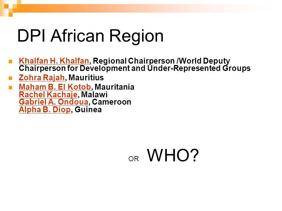 DPI African Region Khalfan H.