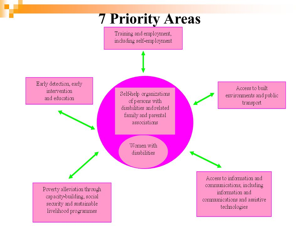 7 Priority Areas