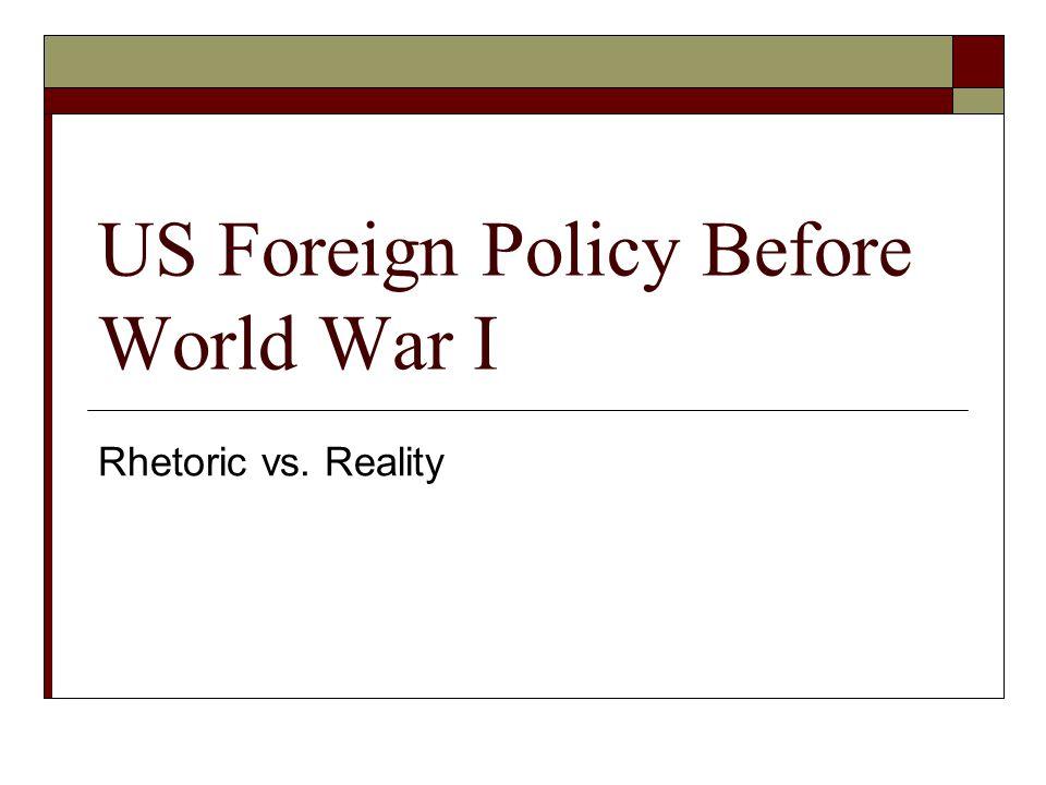 I.Analysis of Rhetoric A.