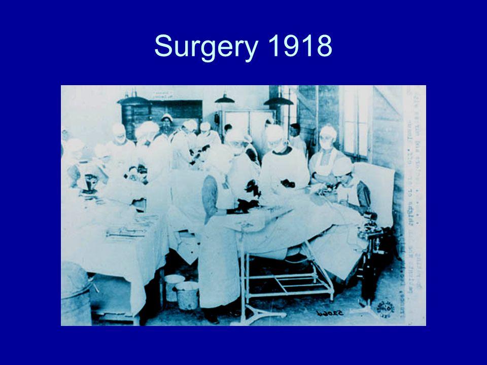 Surgery 1918