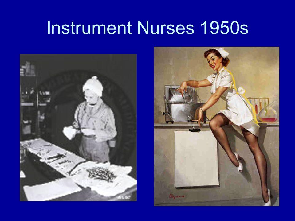 Instrument Nurses 1950s