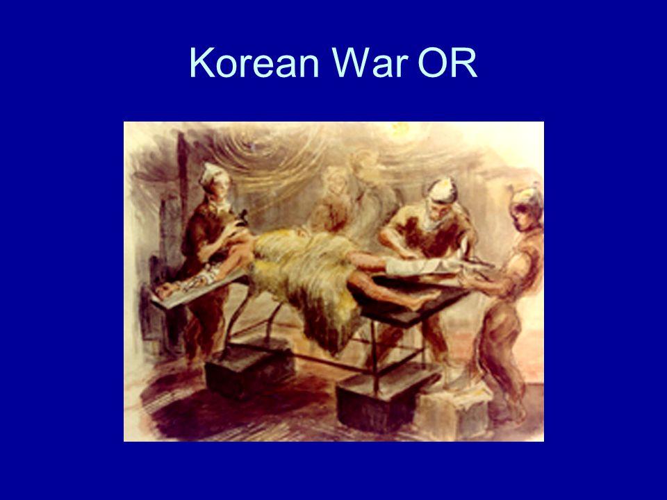 Korean War OR