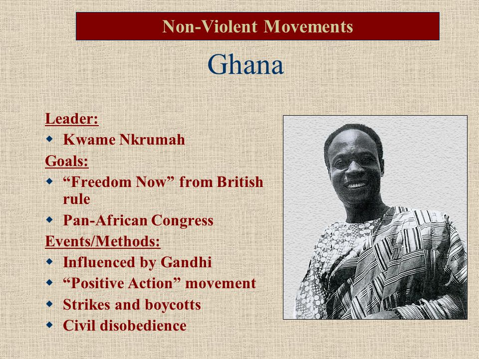 Kwame Nkrumah What is his vision.