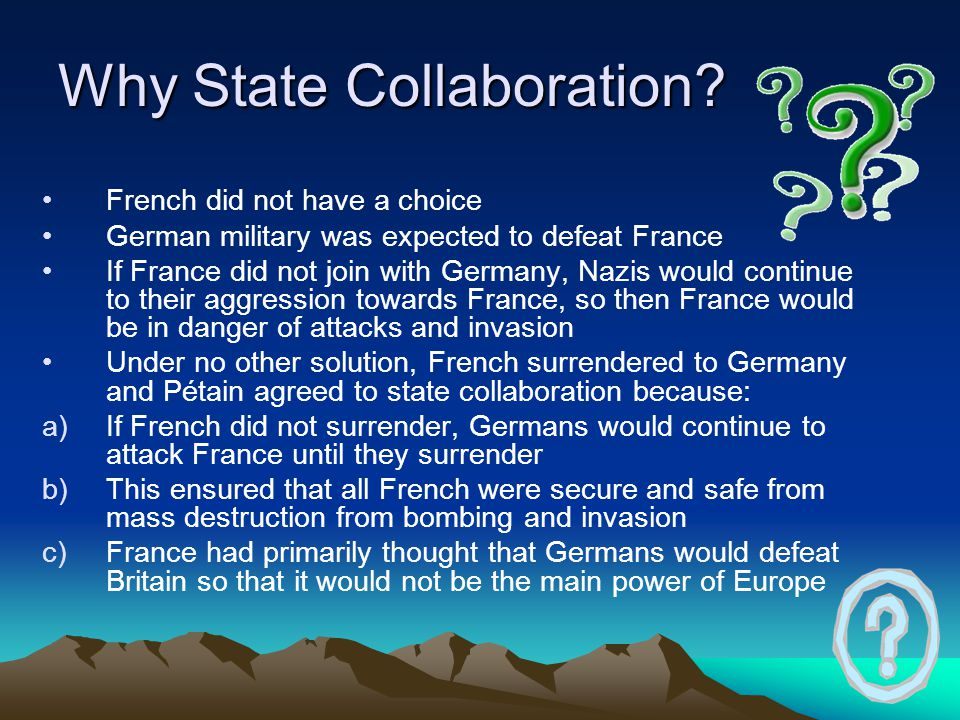 Why State Collaboration.