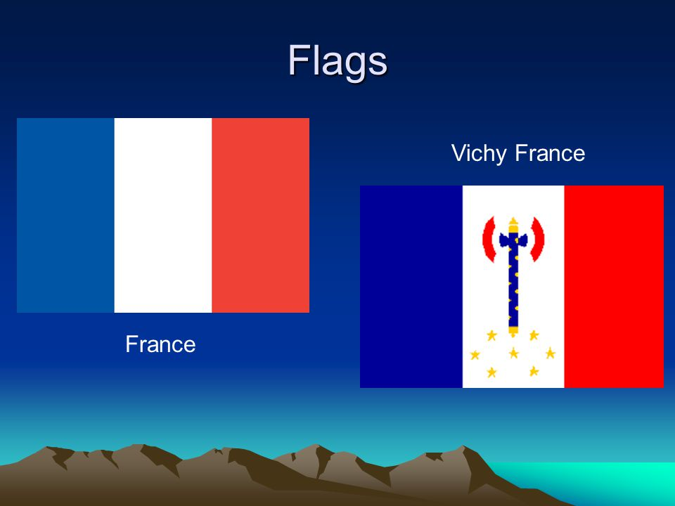 Flags France Vichy France