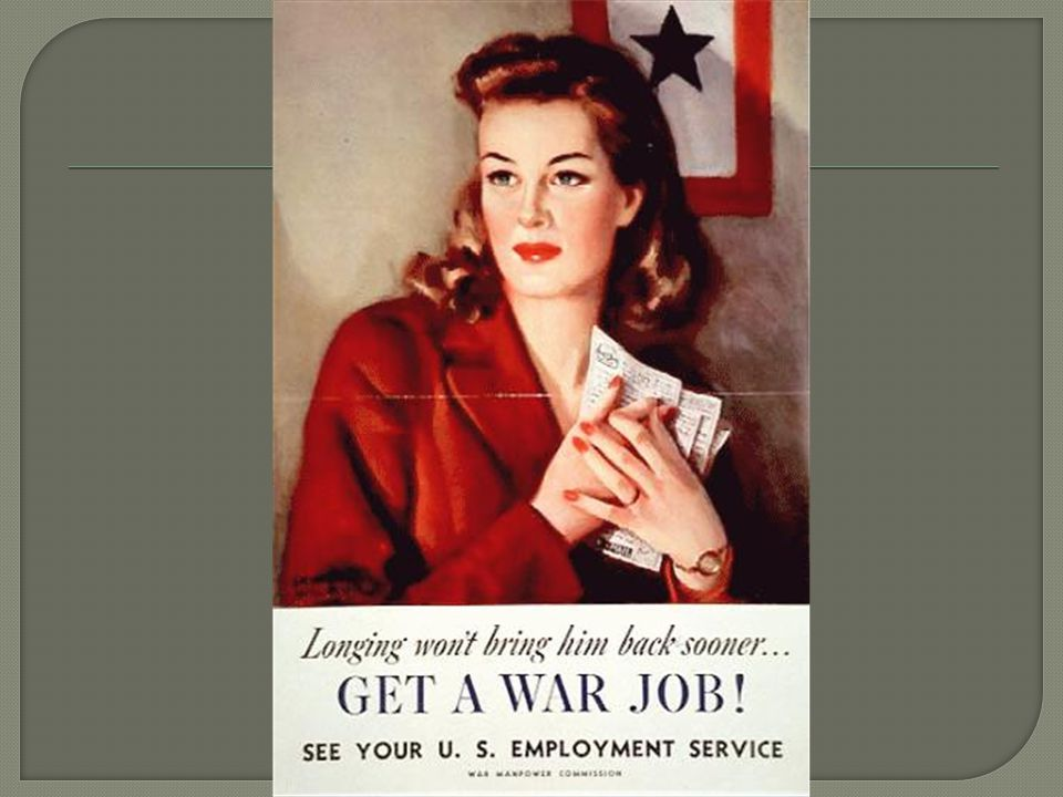  Choose one of the 4 types of propaganda posters used in WWII and create a poster based on that idea.