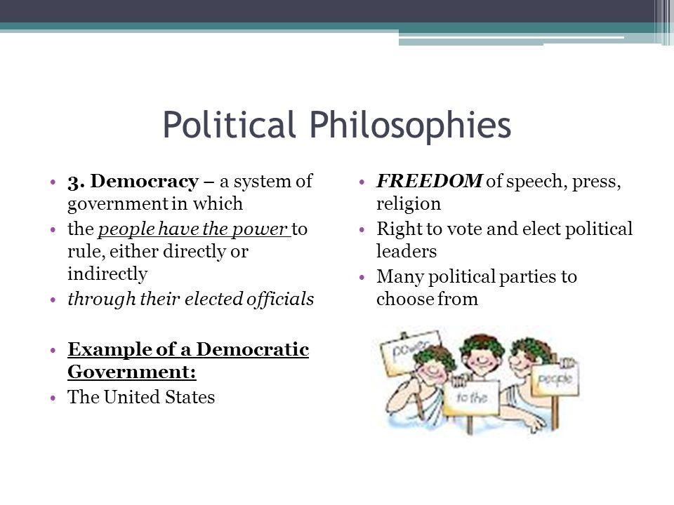 Political Philosophies 1.