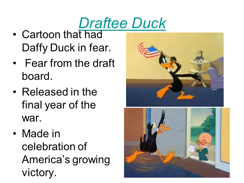Reason and Emotion A Cartoon made during the war by Walt Disney.