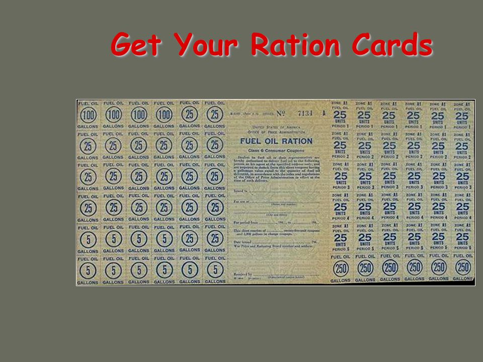 Get Your Ration Cards