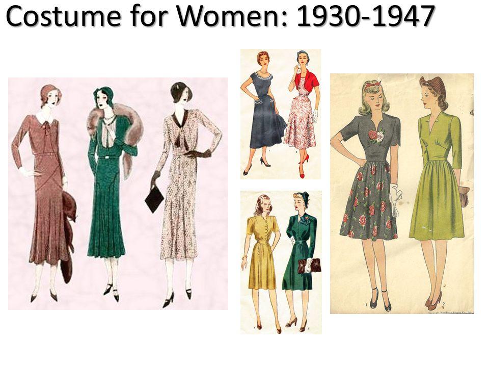 Costume for Women: 1930-1947